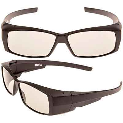 Better quality passive 3D glasses