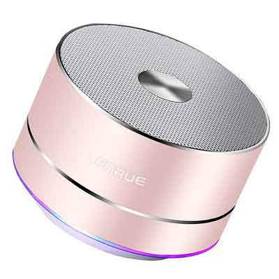 LENRUE Portable Wireless Bluetooth Speaker with Built-in-Mic
