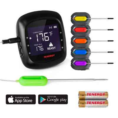 Tenergy Solis Digital Meat Thermometer