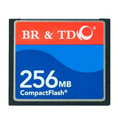 Compact Flash memory card BR&TD ogrinal camera card 256MB