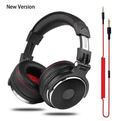 OneOdio Adapter-free DJ Headphones for Studio Monitoring and Mixing