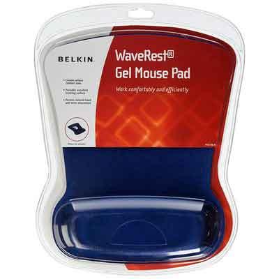 Belkin WaveRest Ergonomic Gel Mouse Pad with Wrist Support