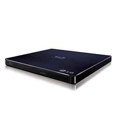 LG BP50NB40 6x Blu-ray Rewriter BD-RE/8x DVD±RW DL USB 2.0 Slim External Drive