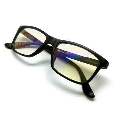 J+S Vision Blue Light Shield Computer Reading/Gaming Glasses - 0.0 Magnification - Anti blue light 100%...