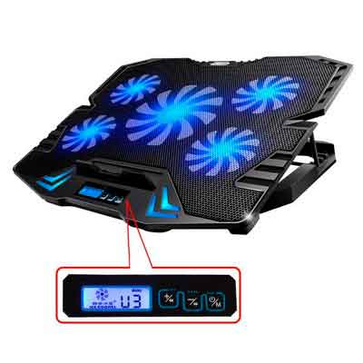 TopMate 12-15.6 inch Gaming Laptop Cooler