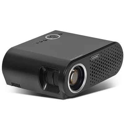 Simplebeam Projector GP90 Native 720p WXGA Video LCD 3200 Lumens LED Efficiency Projectors 1080p Full HD for Home Cinema/Game/TV Show/Camping/Outdoor Movie/Birthday Party