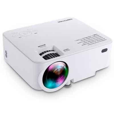 DBPOWER T20 1800 Lumens LCD Mini Projector