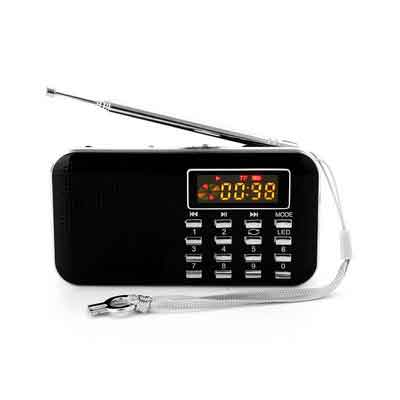 GES NET Mini Digital AM FM LCD Radio Speaker