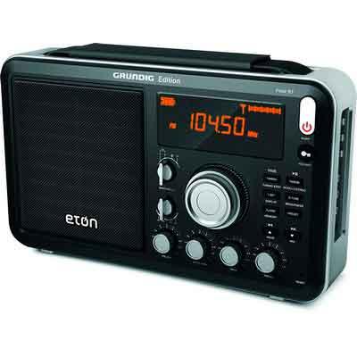 Eton Field AM / FM / Shortwave Radio with RDS and Bluetooth