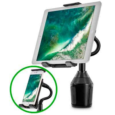 Car Cup Holder Mount for Phone Tablet