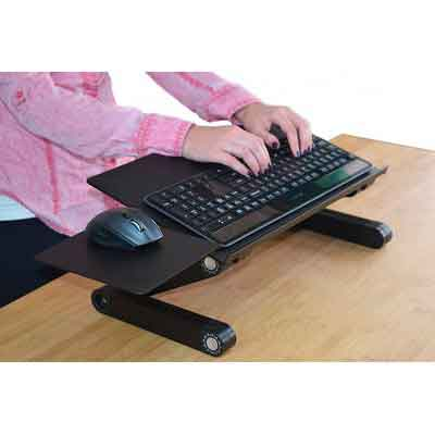 Uncaged Ergonomics WorkEZ Keyboard Tray & Mouse Pad