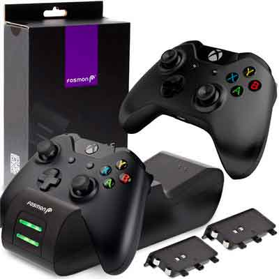 Fosmon Xbox One / One X / One S Controller Charger