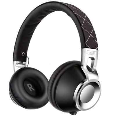 Sound Intone CX-05 Noise Isolating Headphones with Microphone - Black