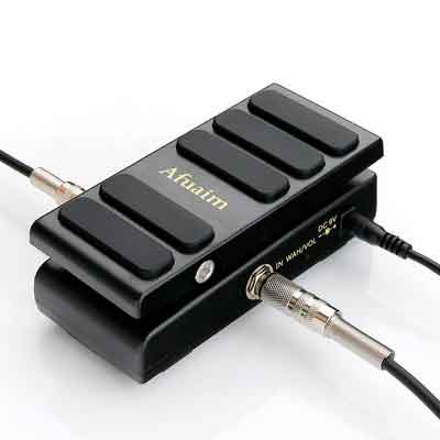 Afuaim 2 in 1 Wah/Vol Guitar Pedal AWV-1 Mini Wah Volume Combine Multi Effects Pedal True Bypass