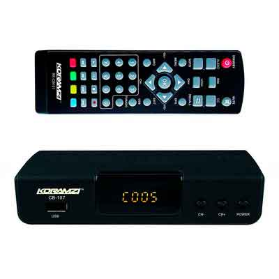 KORAMZI HDTV Digital TV Converter Box ATSC with USB Input for Recording and Media Player