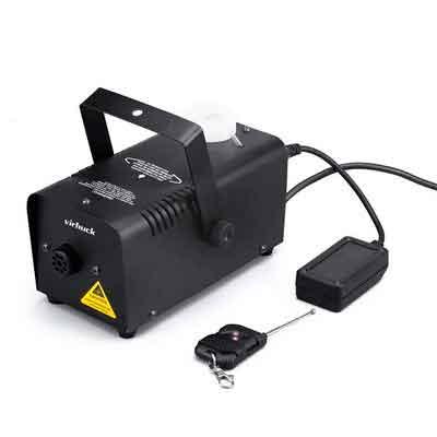 Virhuck 400-Watt Portable Fog Machine with Wireless Remote Control