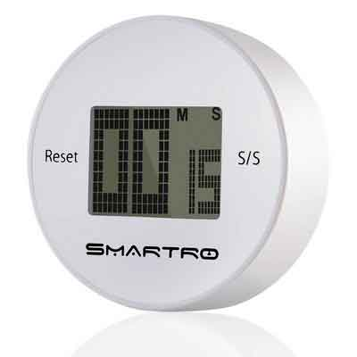 SMARTRO Digital Kitchen Timer Countdown Up Timer with Long Loud Alarm Big LCD Display Magnetic Back