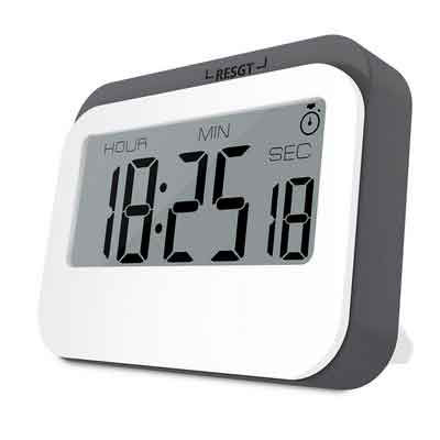 Digital Kitchen Timer Poscoverge Multifunction Large LCD Display