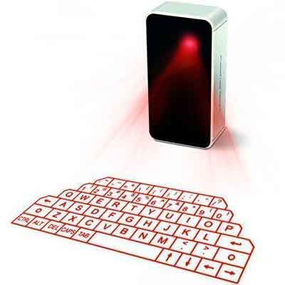 AGS Wireless Laser Projection Bluetooth Virtual Keyboard for Iphone