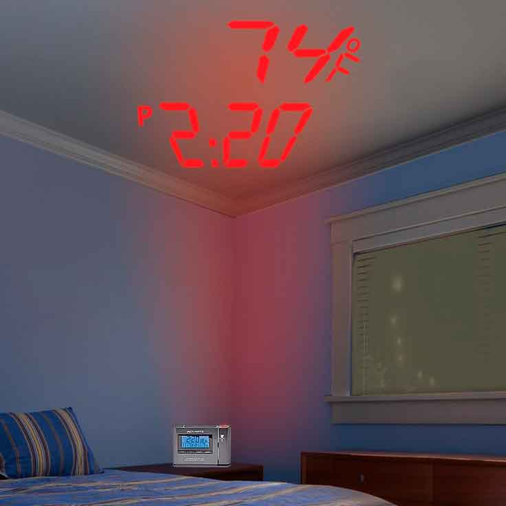 Best Ceiling Projection Clock Feb 2019 Top Rated